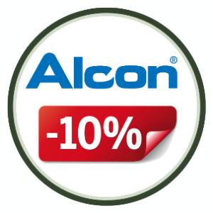Скидка 10% на контактные линзы ALCON